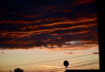 ciel inquiétant