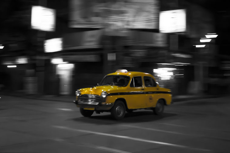 The yellow cab