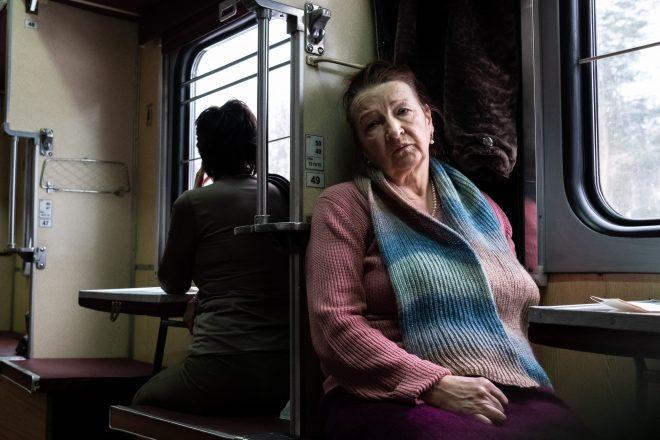 Train Minsk Moguilev