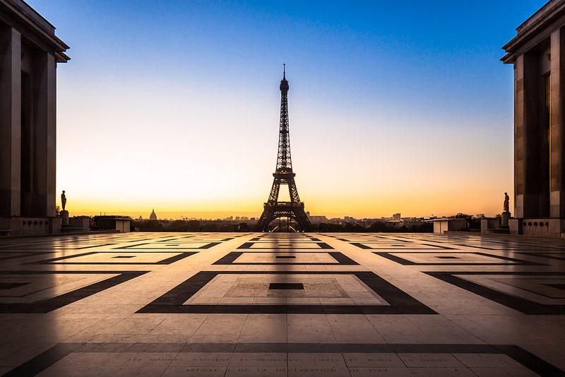 Tour Eiffel au petit matin