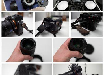 Sony A7rII + objectifs + éclairage Elinchrom