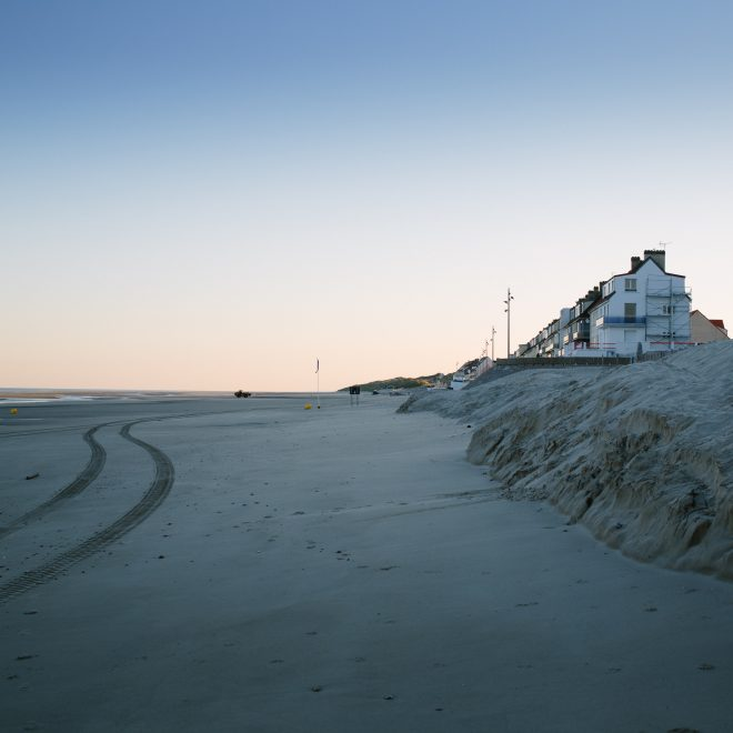 Fort-Mahon-Plage, au matin.