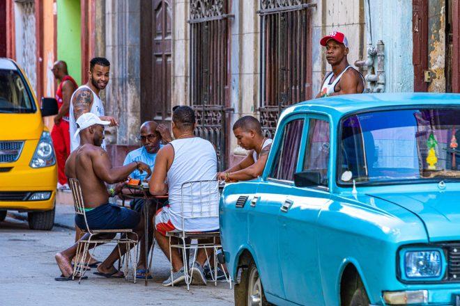 Jeu de domino Cuba