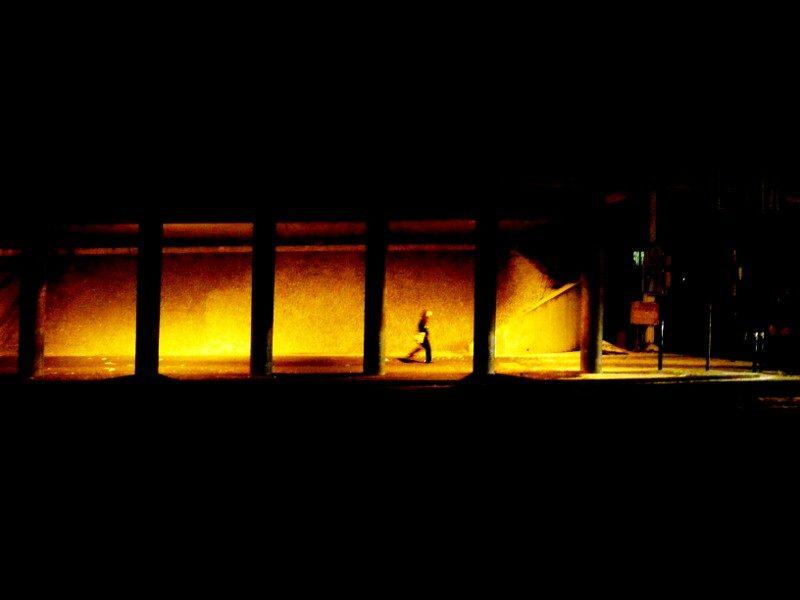 marcheur de l'ombre