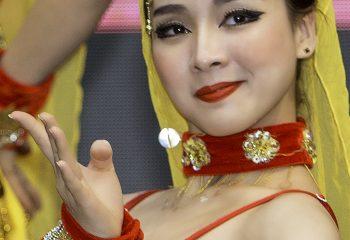 Danseuse chinoise