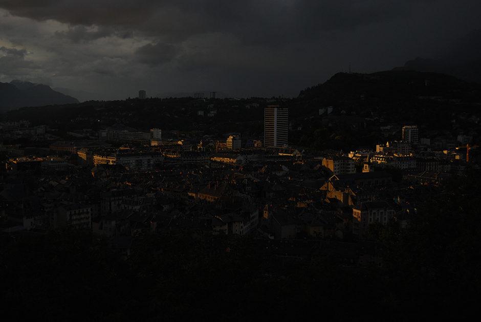 Chambéry sunset
