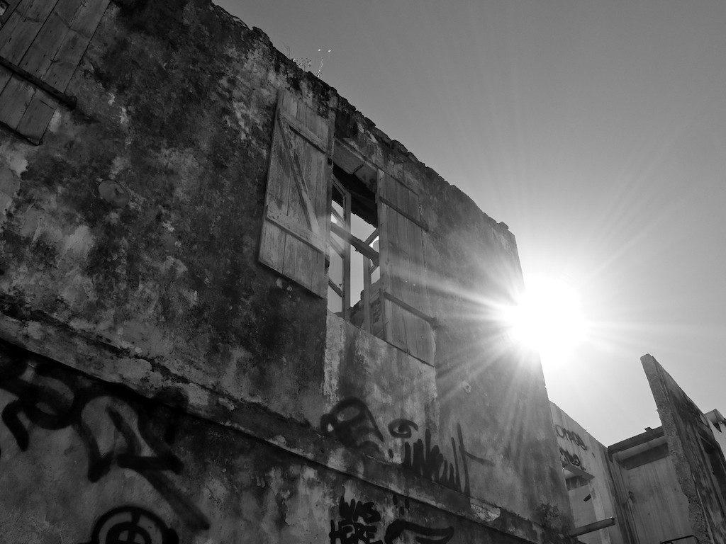 Sunny ruins