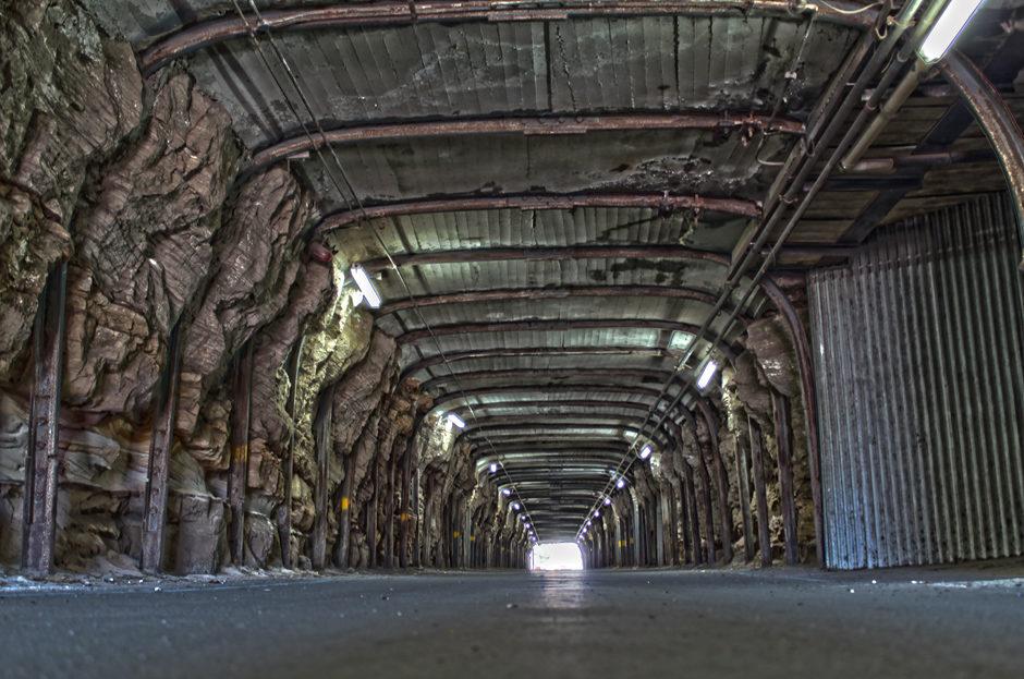 Le bout du tunnel.