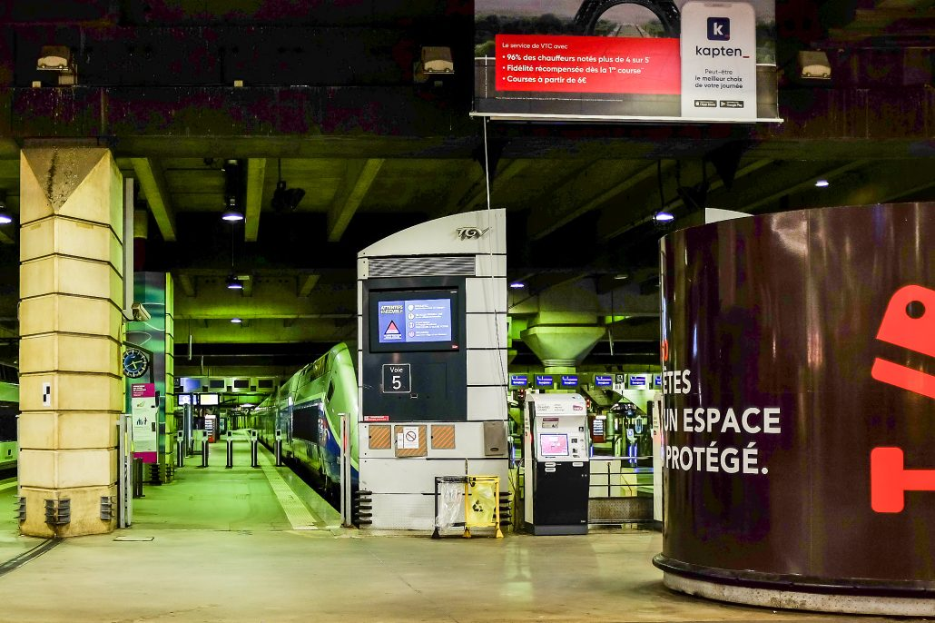 Montparnasse – quai n°5
