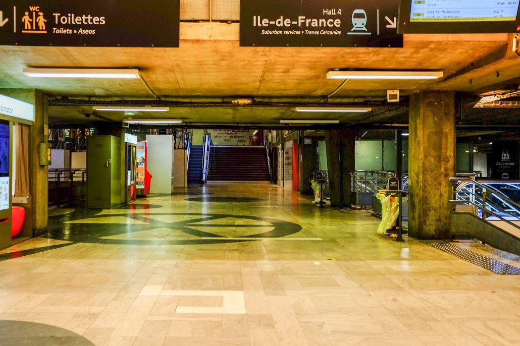 Montparnasse – circambulations 1