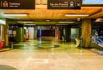 Montparnasse - circambulations 1