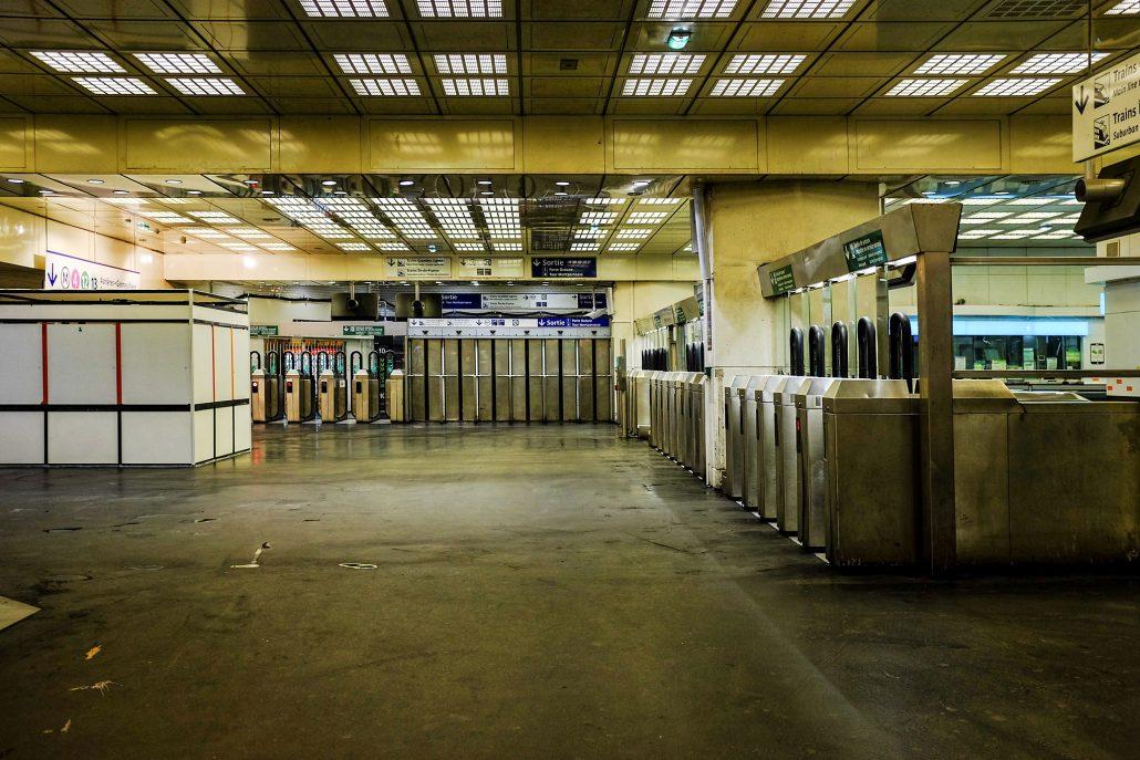 Montparnasse – subway 1