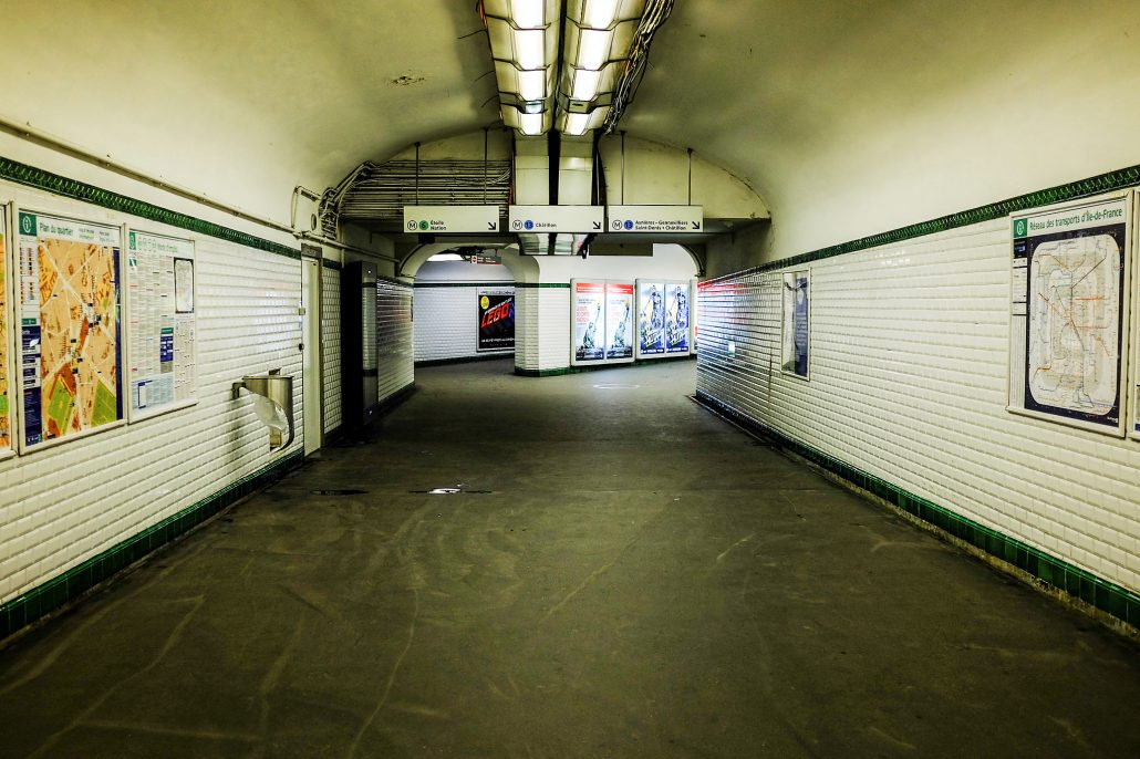 Montparnasse – subway 2