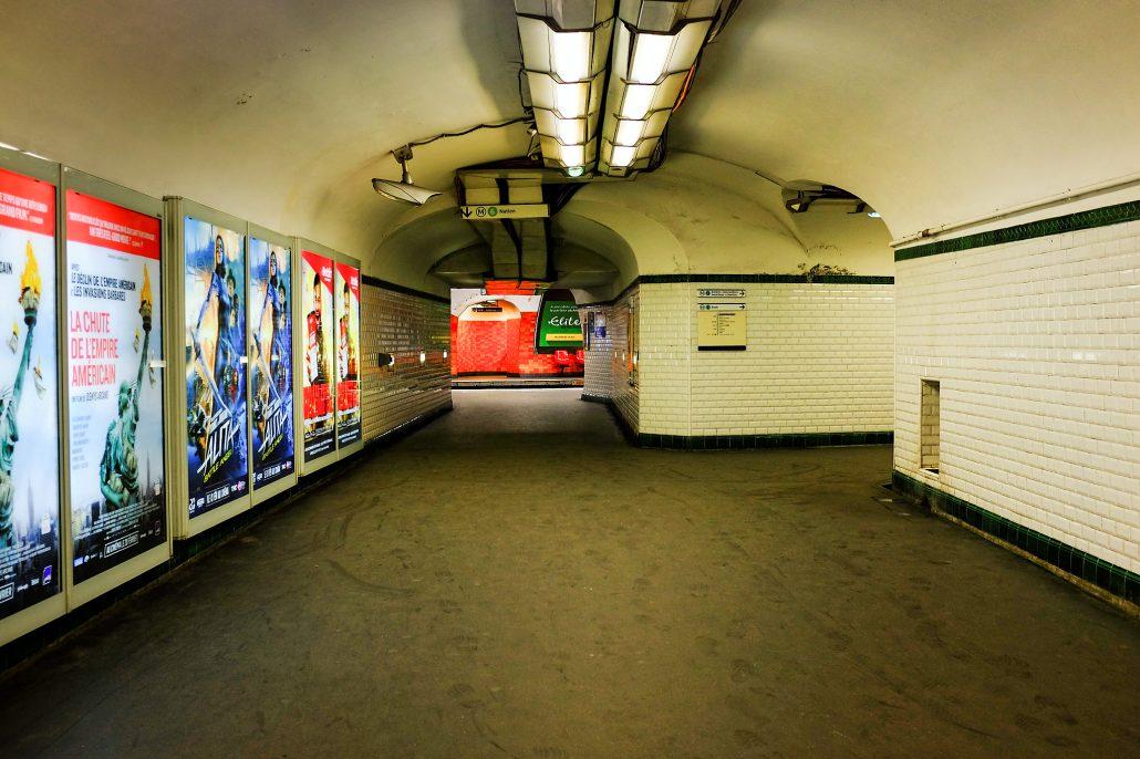 Montparnasse – subway 3