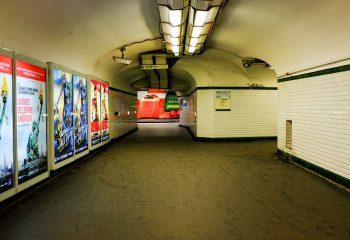 Montparnasse - subway 3