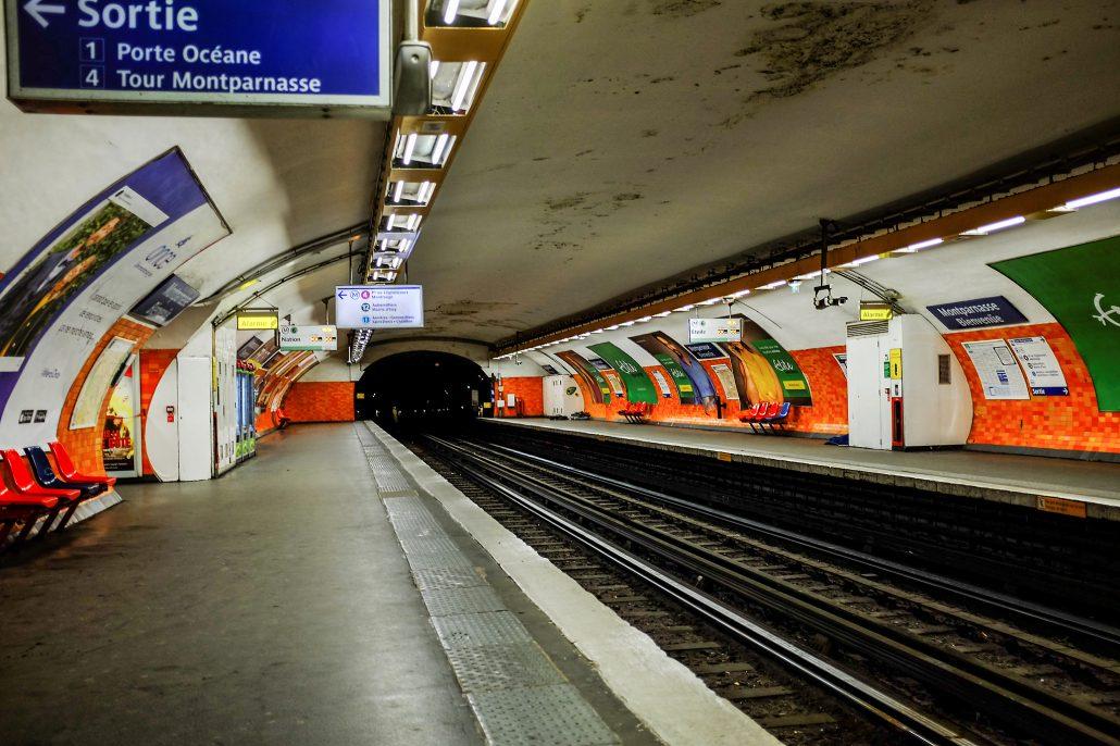 Montparnasse – subway 5