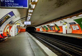 Montparnasse - subway 5
