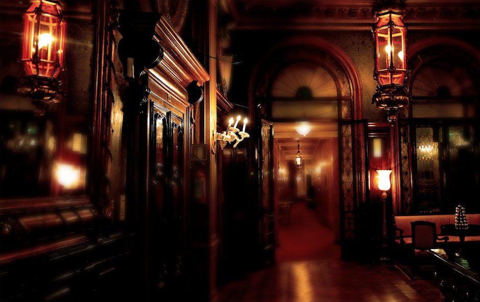 a search of the ghost in the manor
