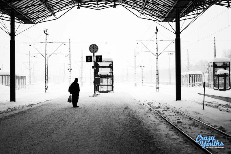 Lonely passenger