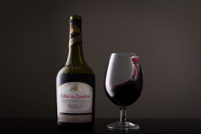 Photo commercial de vin