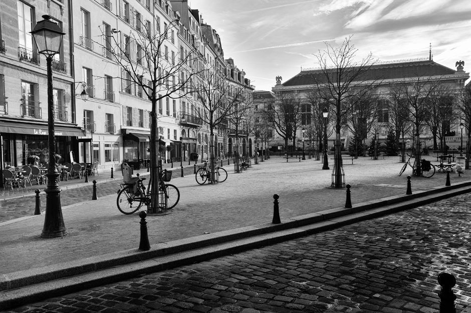 Quiet place in Paris