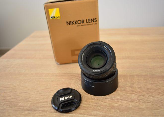 Nikon AF-S G 50 mm f/1,8