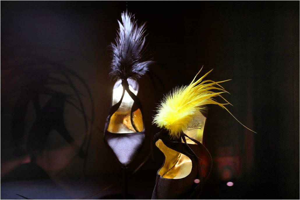 Plumes chaussures