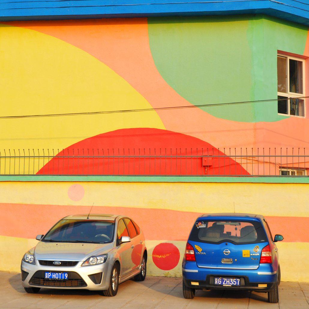 J'aime la couleur «Les voitures»