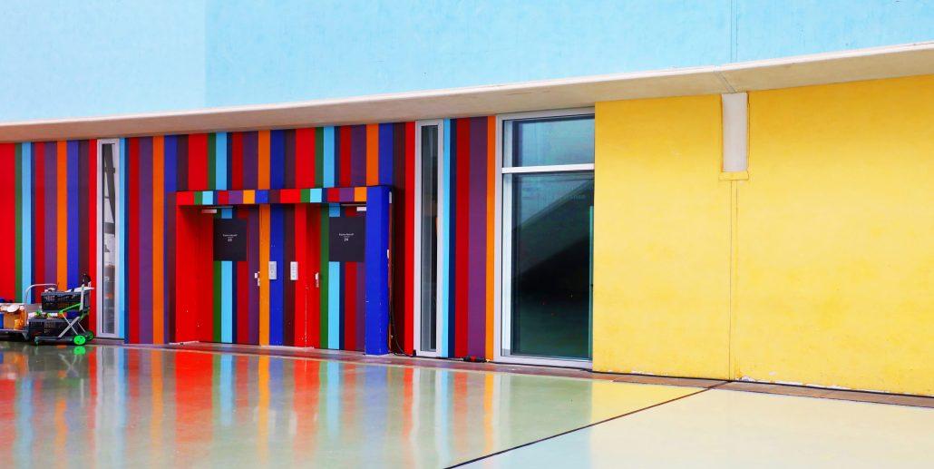 J'aime la couleur «L'ascenseur»