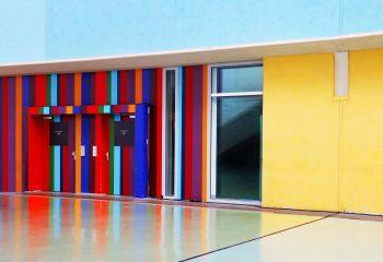 J'aime la couleur L'ascenseur