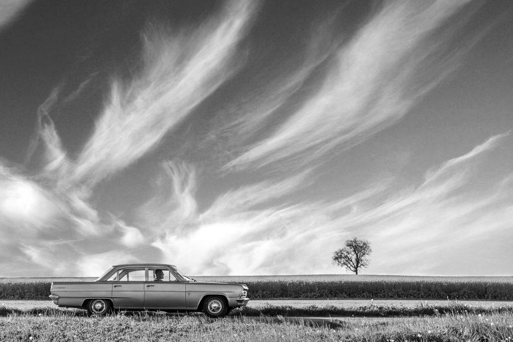 Pierre qui roule et la oldsmobile