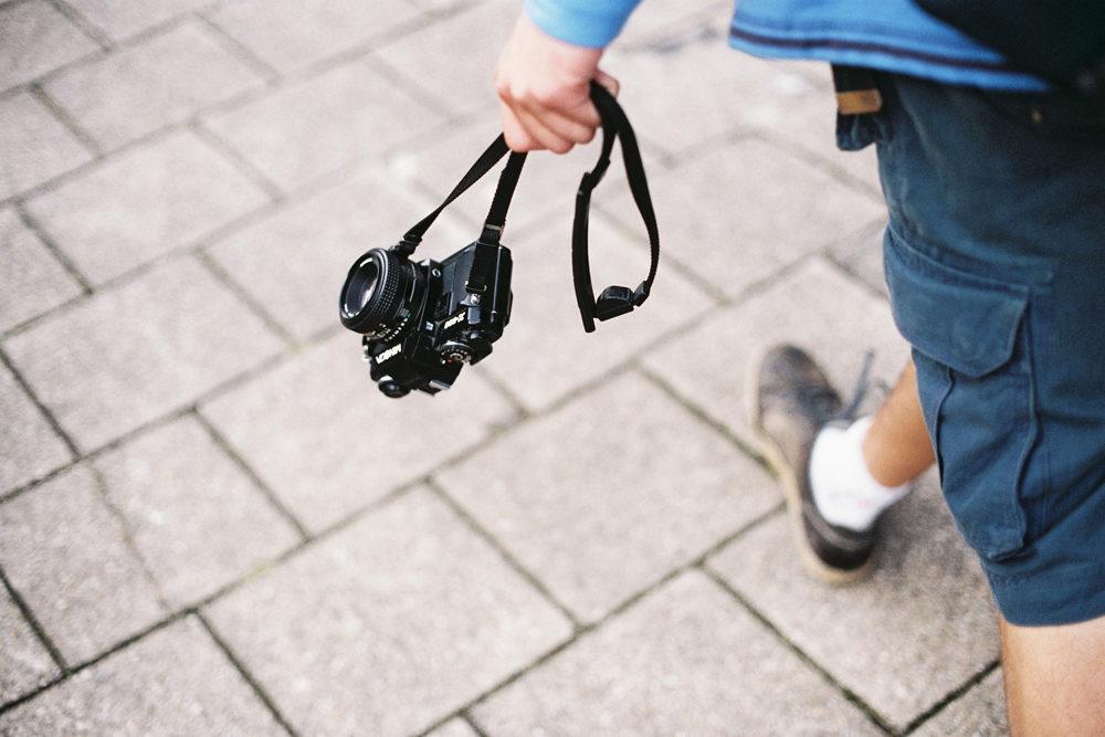 Expired films & backpacks