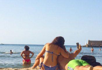 Selfie plage