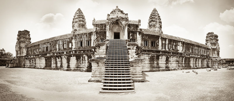 Le temple d'Angkor
