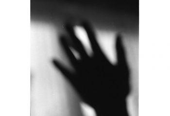 Blurry hand