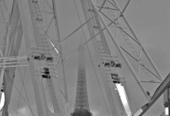 Tour Eiffel vue de la grande roue