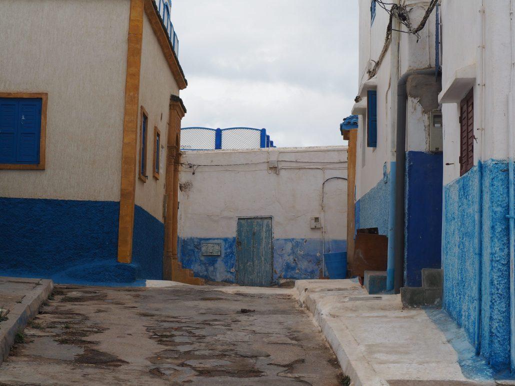 Ruelle à Casablanca, Maroc