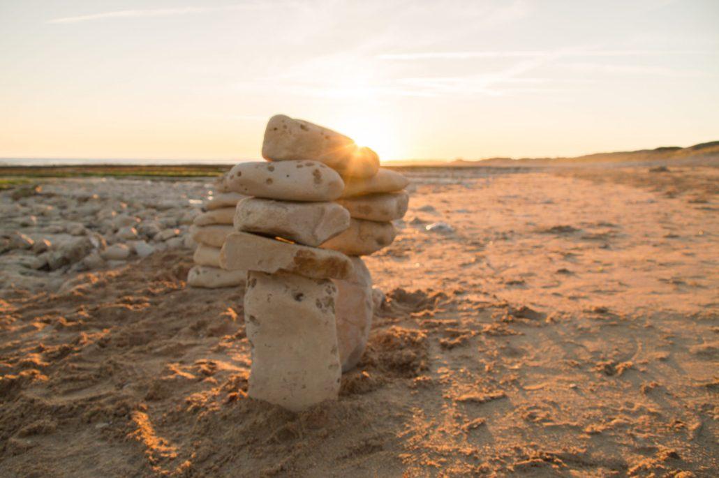 Monticule de pierre