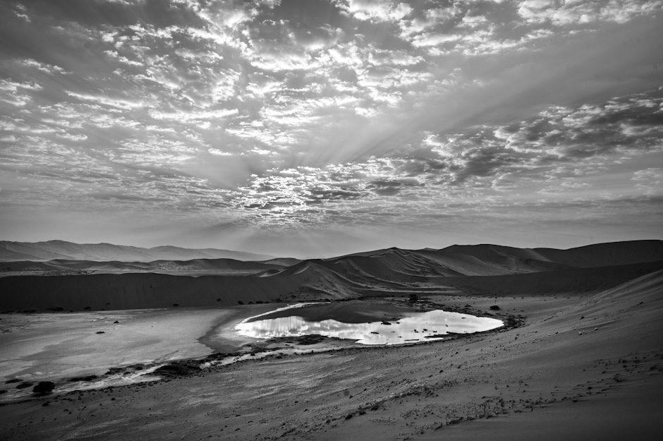 Water in Namib