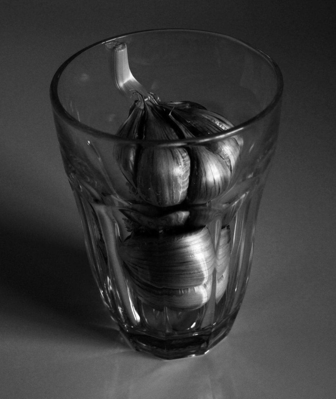 verre à ails