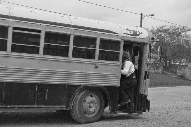 bus au Bélize