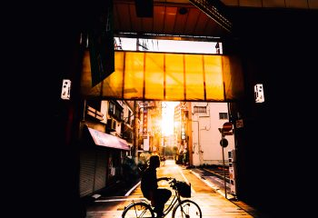 Sunset alley