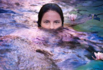 baignade à Giverny