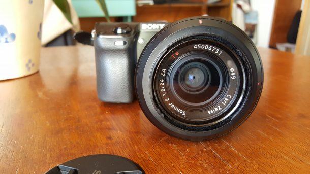 Sony Nex 7 (+ Objectif Sony E 24 mm f/1.8 série ZEISS )