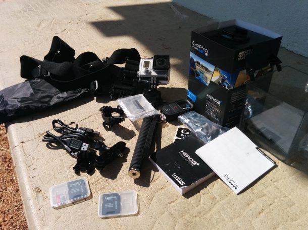 Gopro 3+ Black édition + accessoires