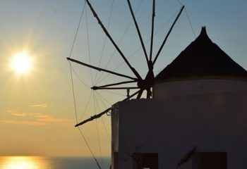 Oìa, Santorin