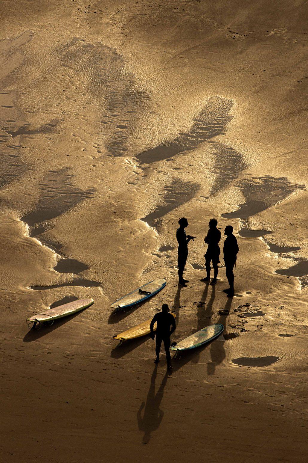 Pause avant la vague