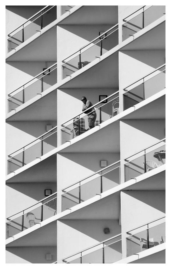 Le balcon…