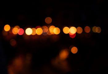 Une guirlande de lucioles