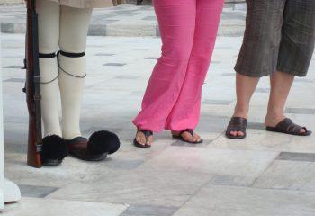 pieds grecs ?